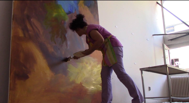 a festmény születése